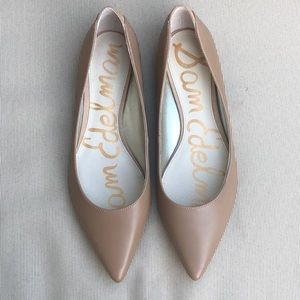 SAM EDELMAN 'Rae' Pointy Toe Ballet Flat